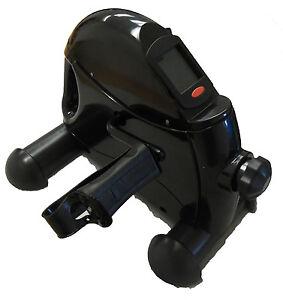 Leg Trainer Deluxe Pedal Exerciser Exercise Mini Bike with Digital Timer Display