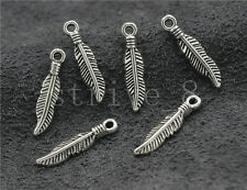 15//60//300pcs Antique Silver Beautiful Whale/'s tail Jewelry Charms Pendant 16mm