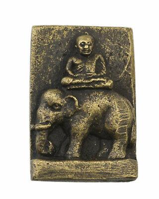 Amulett Thai Phra Lp Ngern Talisman Elefant Reichtum Schutz Talisman 1654 Waren Des TäGlichen Bedarfs
