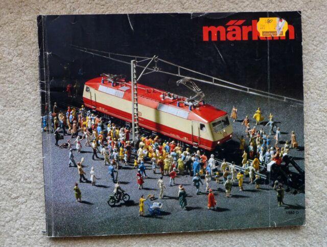 Märklin Katalog 1980 D