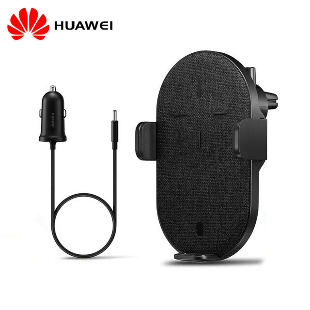 HUAWEI Wireless Car Charger Phone Holder Automatic Clamping Air Vent Mount L7H5