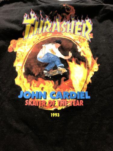 Vans Thrasher John Cardiel Skater 1993 Long Sleeve