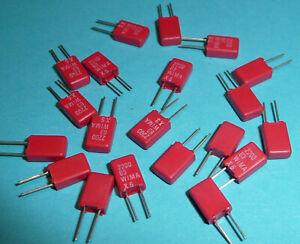 20x-Wima-2-2nF-2200pF-63V-RM2-5-Kondensator-NOS-klein-mini-Audio-etc