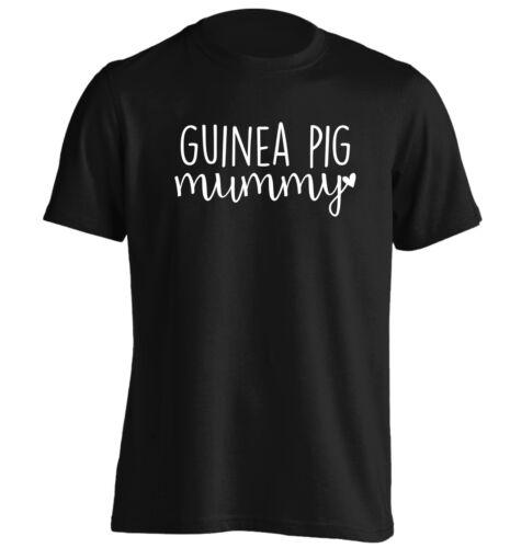 Guinea pig mummy t-shirt animal pet pigs furry hutch love heart hipster 2665