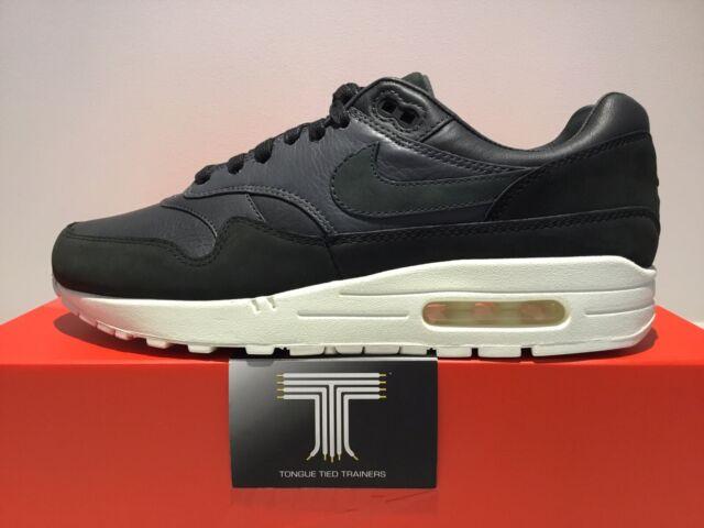 Nikelab Nike Air Max 1 Pinnacle Premium Leather ~ 859554 004 ~ Uk Size 10