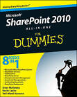 SharePoint 2010 All-in-One For Dummies by Kevin Laahs, Veli-Matti Vanamo, Emer McKenna (Paperback, 2010)