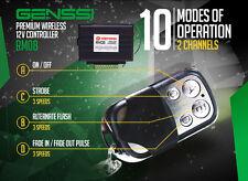 Wireless Remote LED Light Bar Flash Control Box Strobe Controller Flash Module