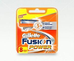 Gillette-Fusion-Power-Rasierklingen-8-Stueck-Ersatzklingen-Original-Blister-Pack