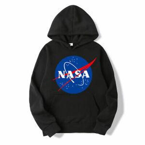 NASA-Hoodie-Pullover-Hoodies-Men-amp-Women-Hood-Unisex-Sweatshirts-Youth-kids-Adults
