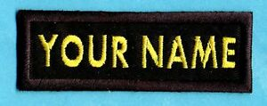 SAAB-Custom-Space-Above-amp-Beyond-Embroidered-Name-Tag-Iron-on-Patch