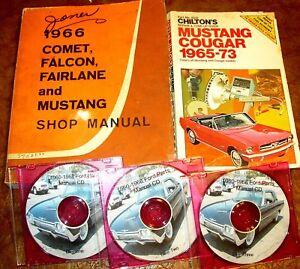 1966 ford mustang gt convertible fastback orig shop manual parts rh ebay com 1967 Mustang 1966 mustang shop manual pdf free
