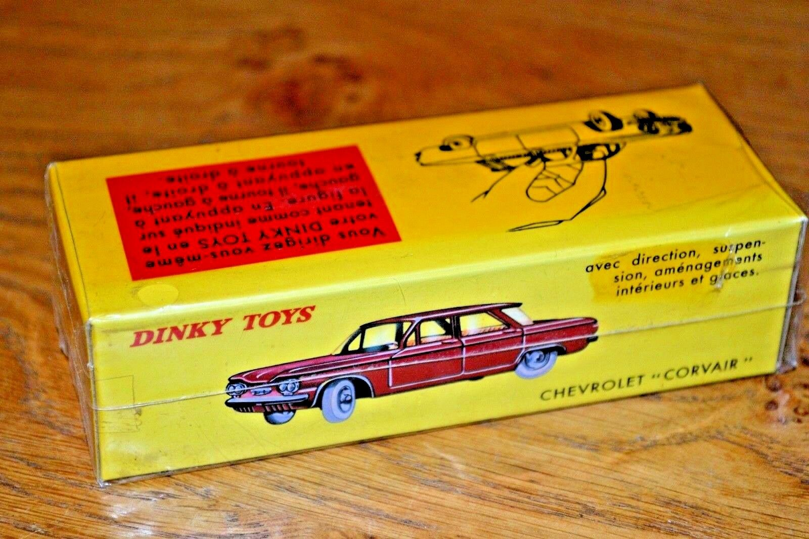 French DINKY TOYS ATLAS EDIZIONE Diecast CHEVROLET CORVAIR N. 552