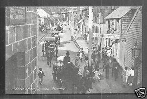 roseau market street corriette people dominica b w i 1910 ebay
