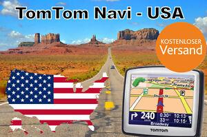 TOP-TomTom-Navi-2018er-Karten-USA-Karte-Amerika-1GB-1A-Navigationssystem