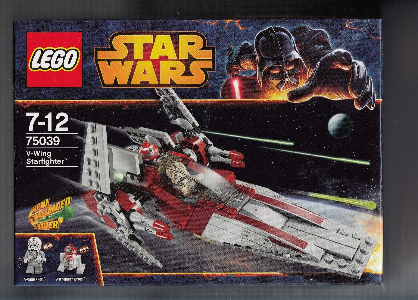 NEU OVP 75039 Lego Star Wars V-Wing Starfighter Astromech Droid  2 Figuren TOP