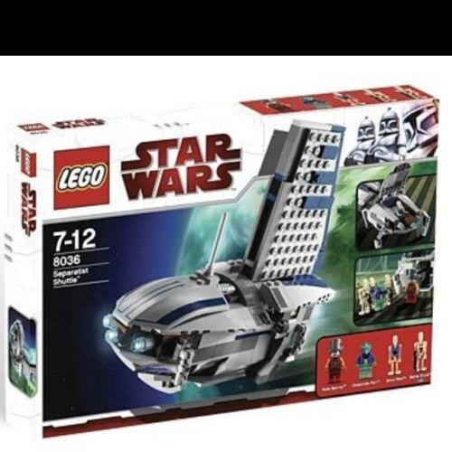 Lego Star Wars 8036 Separatist Shuttle  NEW great Minifigures