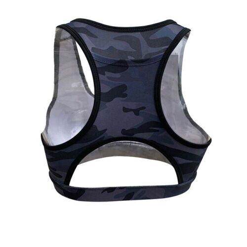 HOT QUALITY Women/'s Sports Bra Phone Pocket Push Up Gym Clothing Yoga Sport Bra