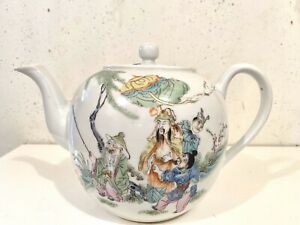 China-republic-period-porcelain-teapot