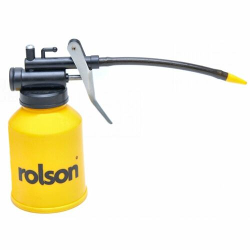 Rolson Yellow Rolson 225cc Oil Can Plastic Body High Pressure