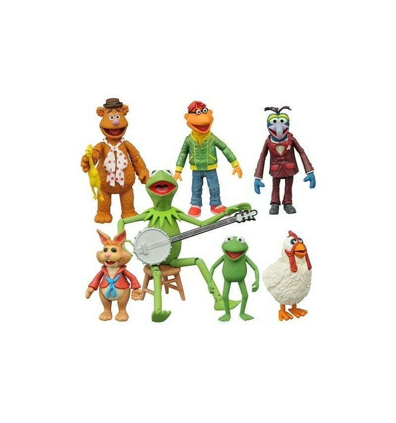Diamond Select Muppets Serie 1 Completo