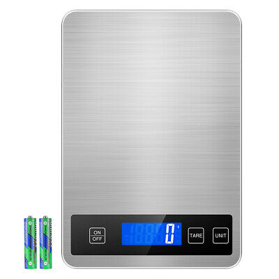 1gram/&5kg Digital Smart Electronic Balance Kitchen Jewellery Food Weighing Scale