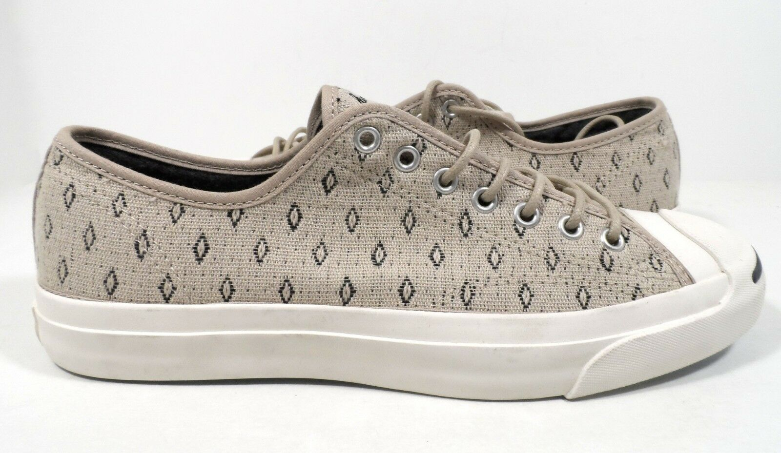 Converse hommes Jack Purcell Ltt Ox Portrait gris/ noir Sneaker