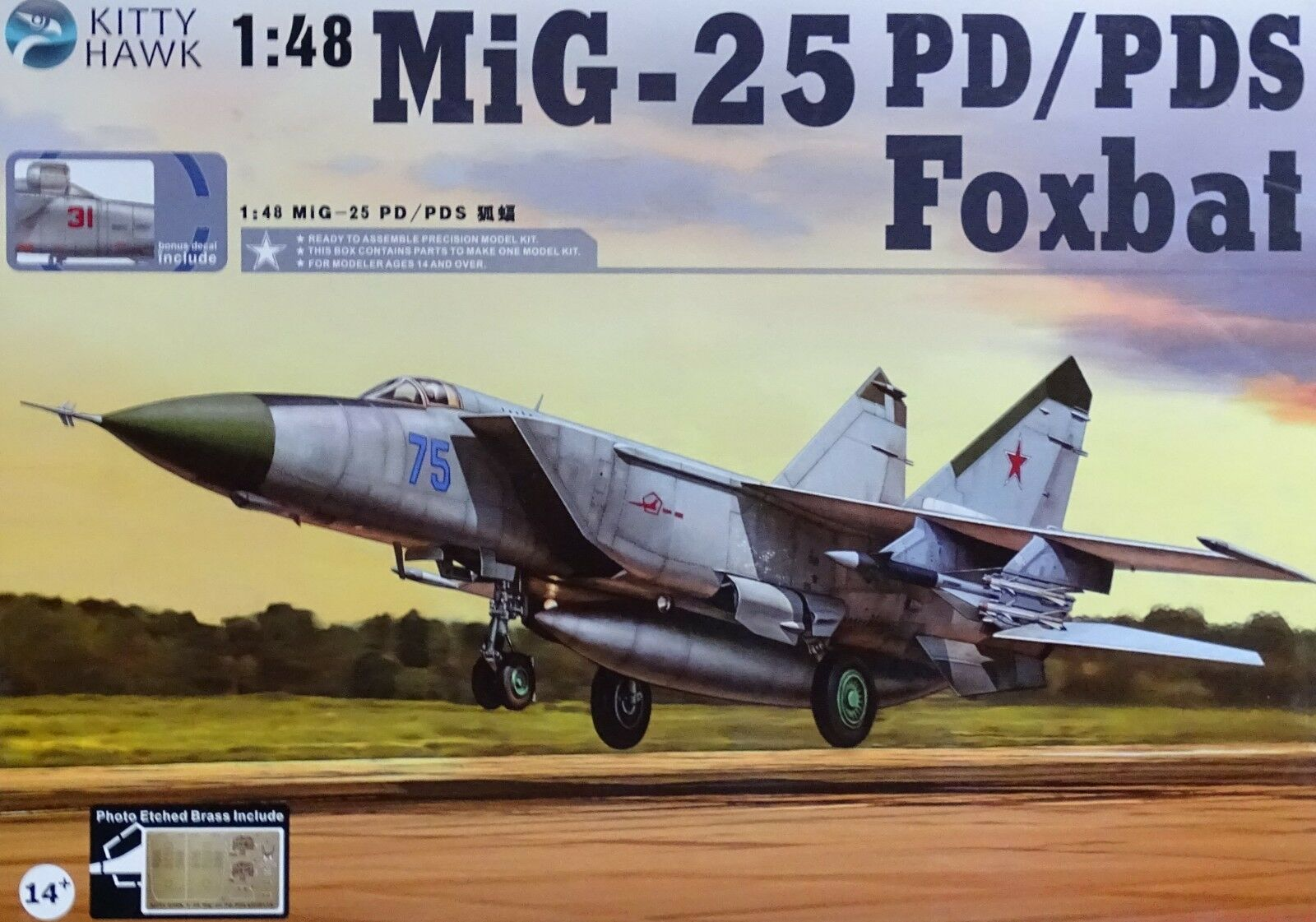 KITTY HAWK 80119 MiG-25PD PDS Foxbat in 1 48  | Guter Markt