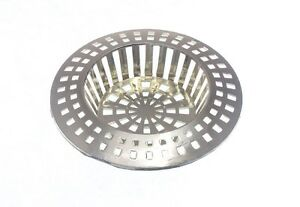 Filter Hair Trap Catch 41-57MM Brass Packets Of 3 x Sink Basin Strainer