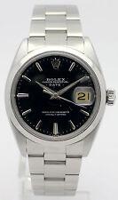 Rolex Oyster date-señores de acero inoxidable-cronómetro-Ref. 1500 de 1961