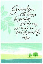 Happy Birthday Grandpa Shore Nature Beach Theme Hallmark Greeting Card