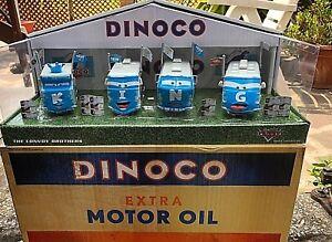 Voitures Disney Pixar Modellini: Convoi Brothers D23 Dinoco King