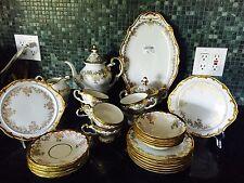 Weimar Katharina 14051 Each Kobalt Coffee set w/Serving plates, Excellent condit