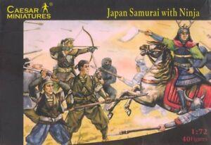 Soldatini 1/72 - Samurai Japonais Avec Miniatures César Ninja H003