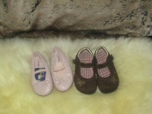 Set-of-2-Toddler-Girl-Shoes-sz-5-NWOT-amp-USED