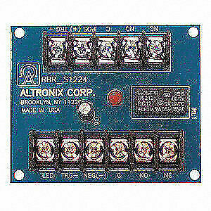 ALTRONIX® 12//24VDC ELECTRONIC TOGGLE//RATCHET RELAY MODULE P//N RBR1224
