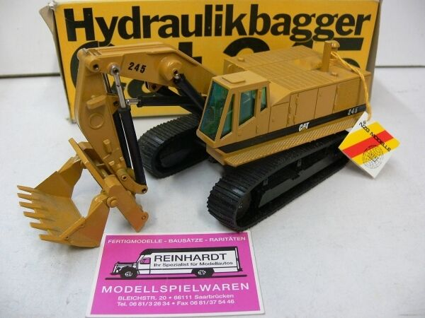 1 50 NZG Hydraulikbagger CAT 245 Ladeschaufel 177