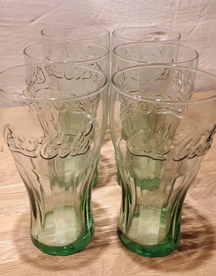 Glas, Drikkeglas, Coca Cola
