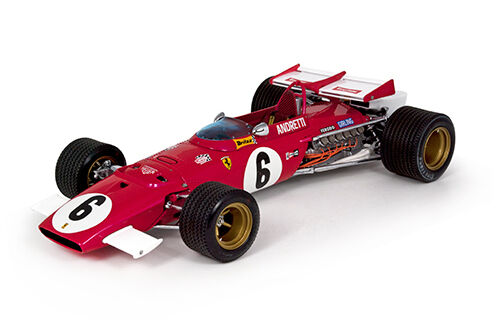 Modèles exoto 1 18 1971 Ferrari 312B   6 Mario Andretti south african gp STANDOX
