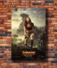 T-500 Art Poster Jumanji Welcome to the Jungle NEW 2017 Movie Silk 24x36 27x40IN