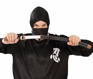 Humble Adultes Jouet Samurai Sword Japonais Ninja Accessoire De Costume Déguisements Convient Aux Hommes, Femmes Et Enfants