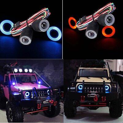 1//10 RC Auto Truck LED Scheinwerfer Scheinwerfer Control Panel für Axial