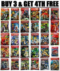 ORIGINAL LEGO NINJAGO Minifigure Limited Edition Polybag Foilpack FREE POSTAGE