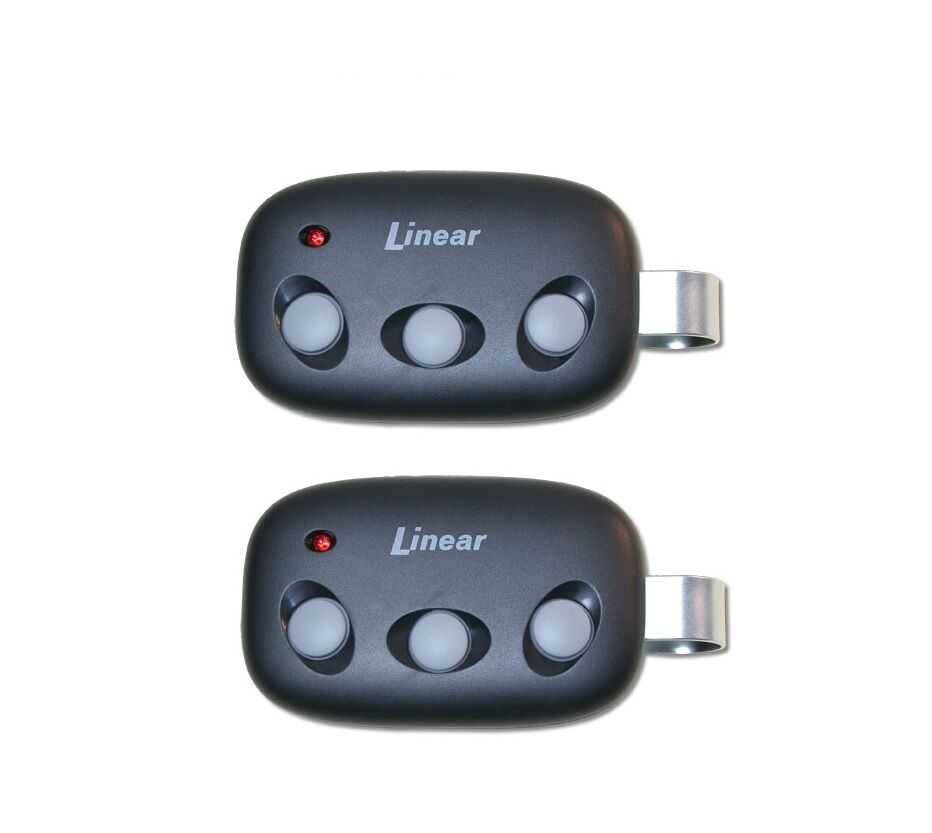 3 Button 2 Garage Door Remote for Linear Megacode MCT-3 DNT00089
