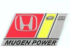 Mugen Power Badge emblema in metallo NUOVO di zecca s2000 Civic Tipo R S Integra