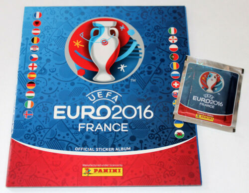 PANINI EM EURO 2016 France-Ed South America 2 X Display Box Leeralbum album