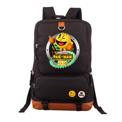 pac man championship Backpack Messenger Bag Rucksack New//wtag
