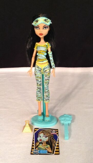 Monster High Series - Dead Tired Cleo de Nile Mattel 100% Complete Retired