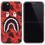 Bape-Camo-Shark-Glow-in-the-dark-Hard-Case-Cover-For-iPhone-11-Pro-Max-XS-XR-8-7 miniature 10
