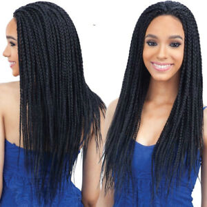 Lace-Front-Full-Head-Synthetic-Wig-ThinTwist-Crochet-Braid-Wigs-For-Black-Women