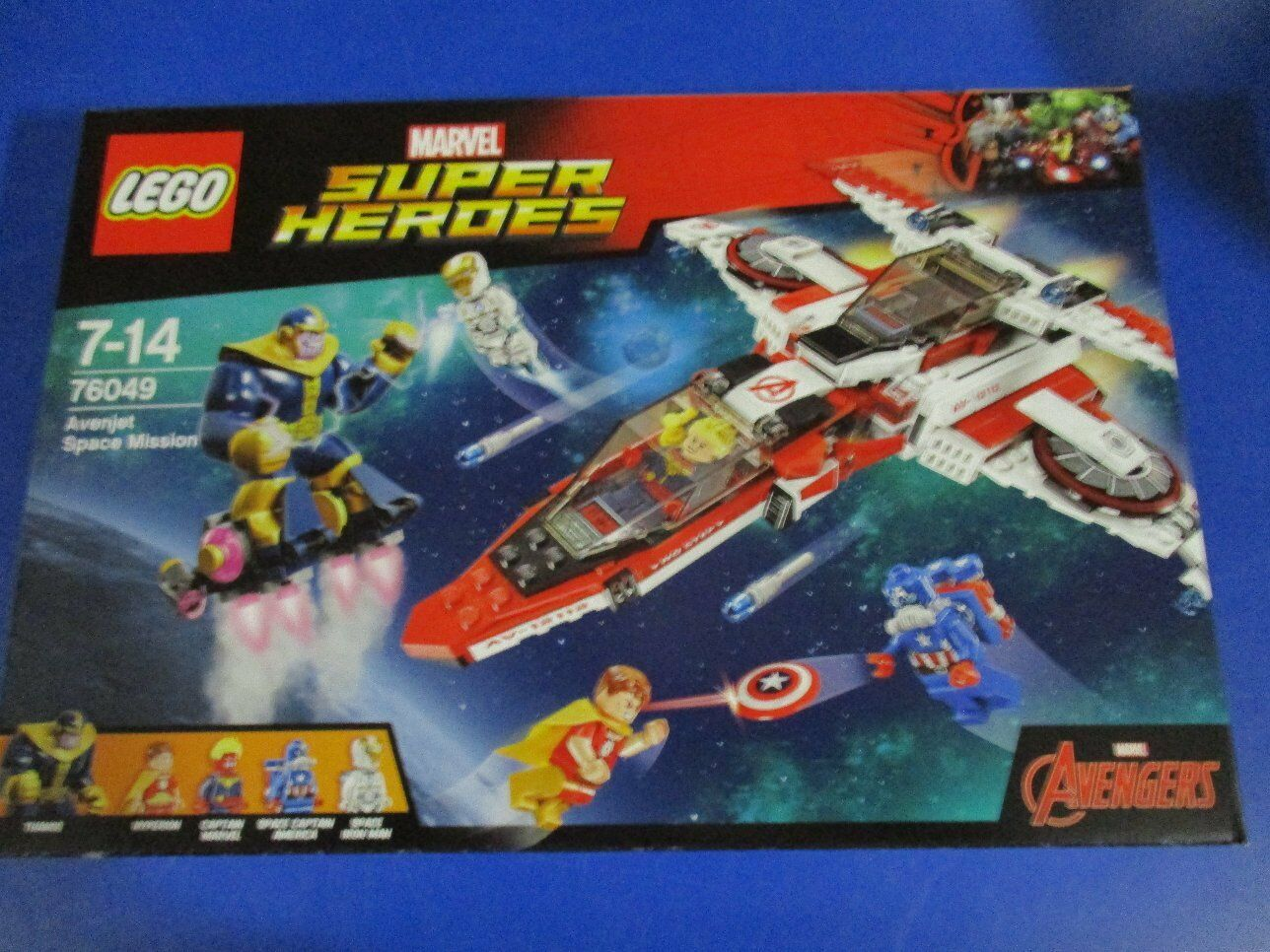 LEGO Super Heroes 76049 Avenjet Weltraummission NEU OVP